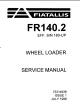 FiatAllis FR140 FR140.2 Manual de Reparação + Operação Manual de Manutenção [Carregador]