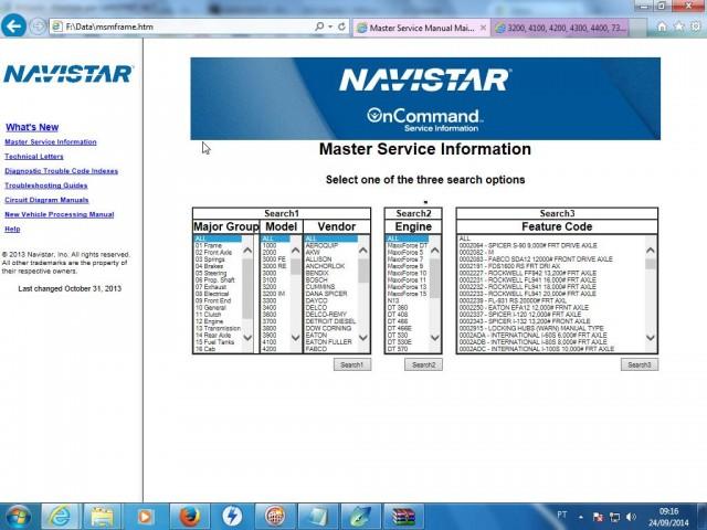 Navistar International ISIS Service Manual 2013
