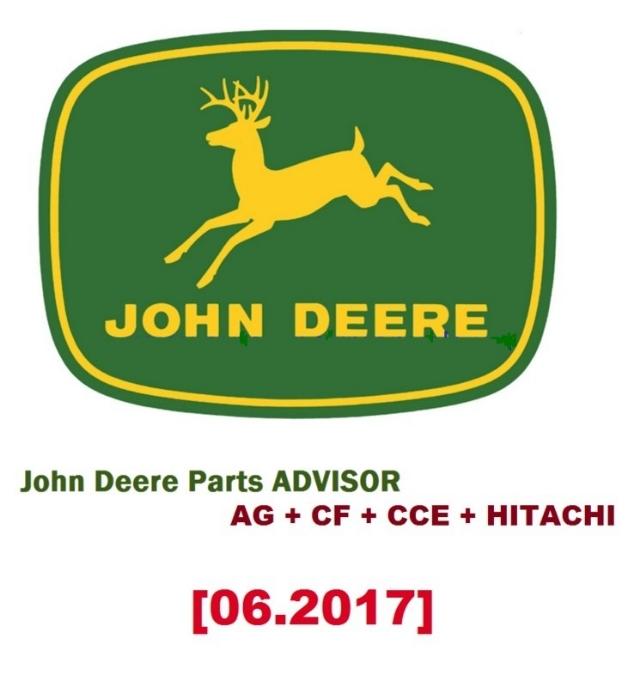 Catálogo de peças John Deere  [06.2017] AG + CF + CCE + HITACHI