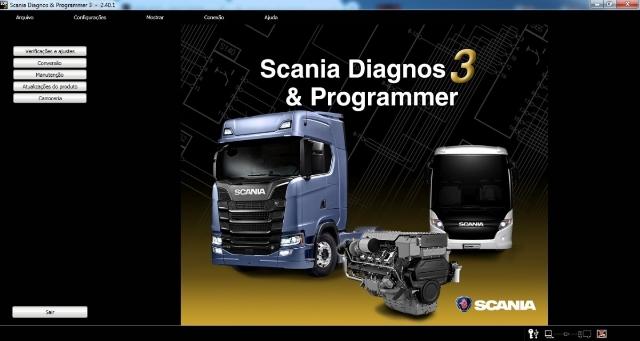 Scania Sdp3 2.40 Rodoviario Liberado para 32 ou 64 Bits