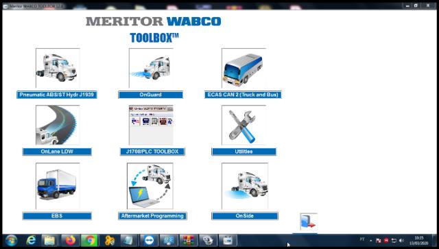 Meritor WABCO TOOLBOX 12.6 Inglês + Ativador?cache=2020-03-16