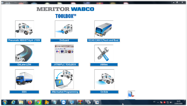 Meritor WABCO TOOLBOX 12.6 Inglês + Ativador