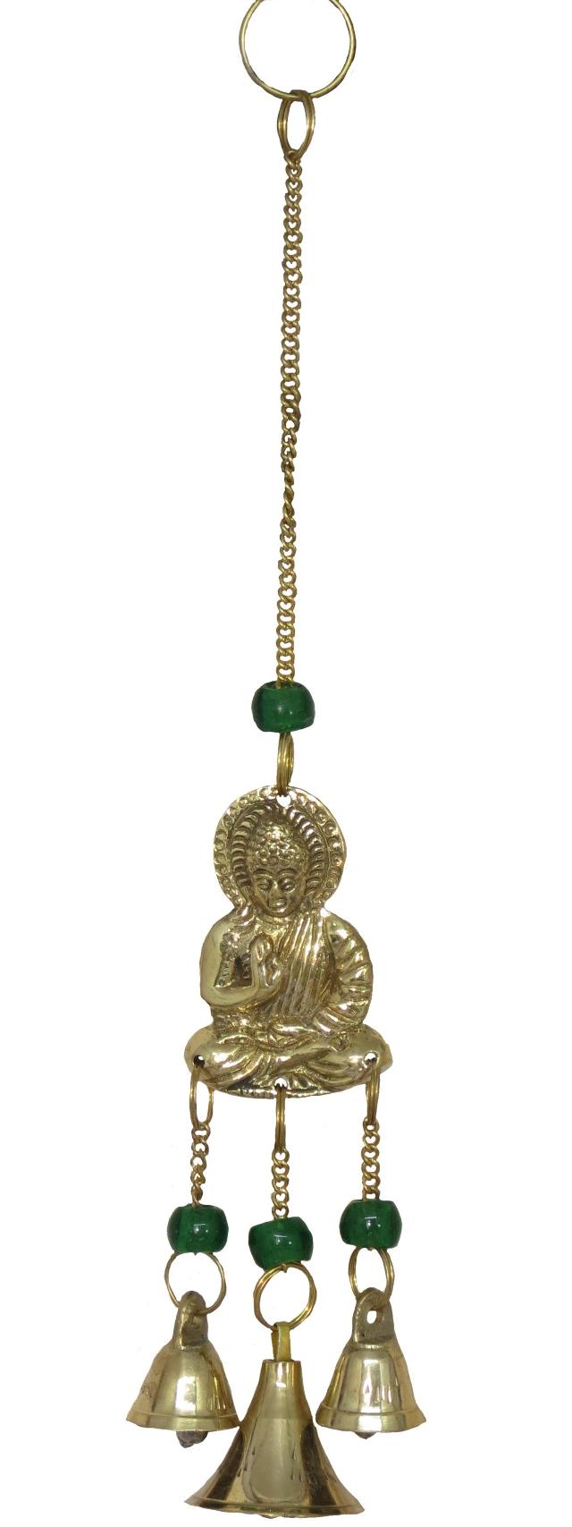 Sino dos Ventos Buda em Metal Importado (1005)