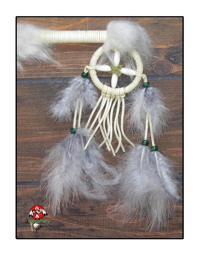 Bastão da Medicina / Bastão de Dança Indígena Americano (1106)