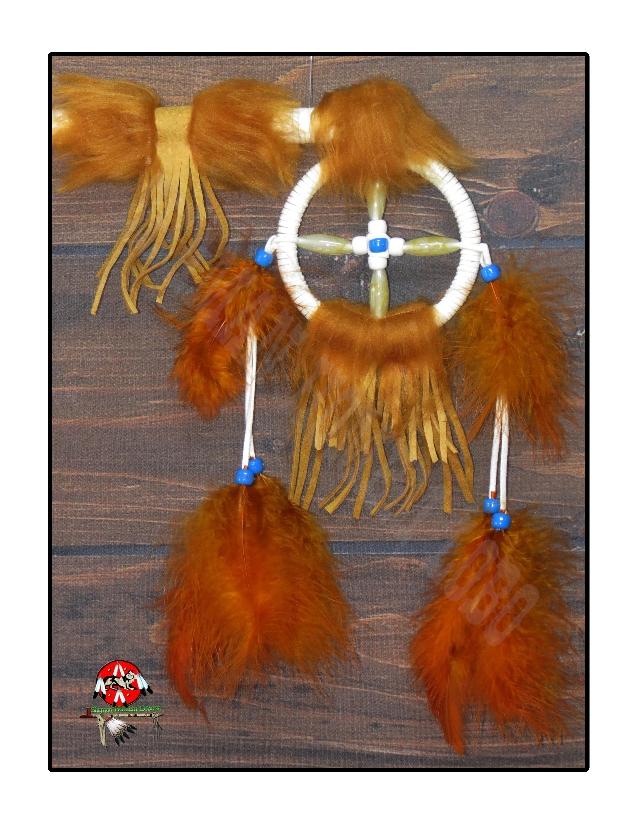 Bastão da Medicina / Bastão de Dança Indígena Americano (1104)