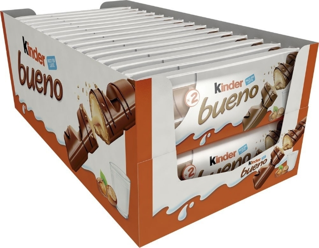 Chocolate Kinder Bueno 43g - caixa 30 un