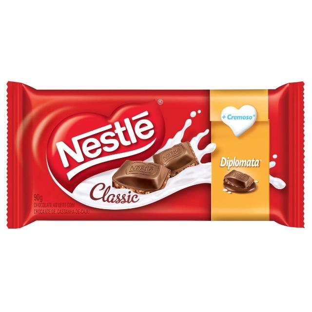 Chocolate Classic Diplomata Nestle 90g - 14 un