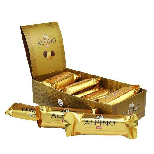 Chocolate Alpino 25g - caixa 18 un