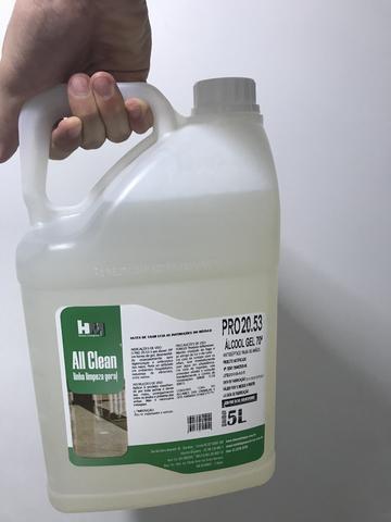 Álcool em Gel All Clean 5L