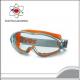 Óculos de Segurança Integral Uvex ultrasonic 9302 - Laranja/Cinza - Incolor/ UV 2-1,2, supravision