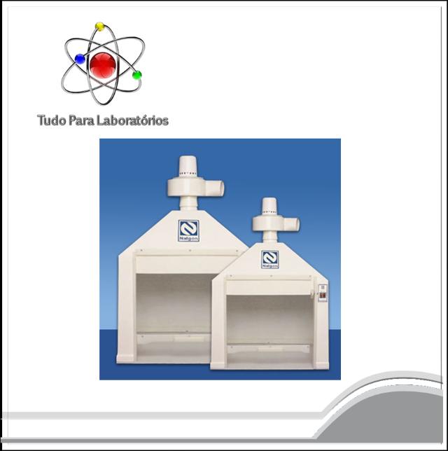 Capela para Exaustão de Gases 1120 X 650 X 1100 mm