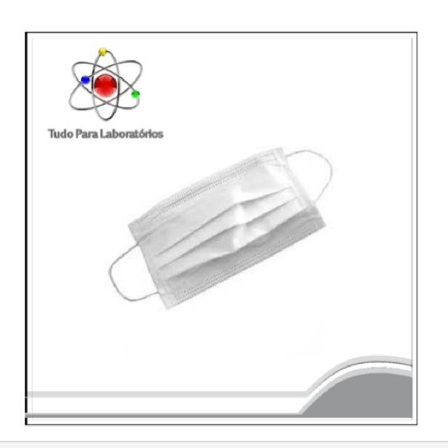 Máscara Descartável - Pacote com 100 unidades
