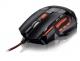 Mouse Gamer Multilaser 2400DPI QuickFire Vermelho - MO236