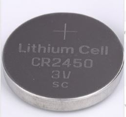 Bateria CR 2450 3V 600mAh