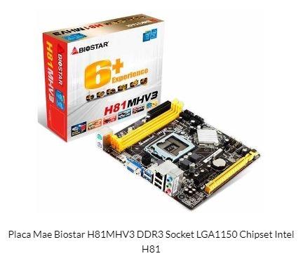 PLACA MAE BIOSTAR H81MHV3 DDR3 SOCKET LGA1150 CHIPSET INTEL H81?cache=2020-02-12
