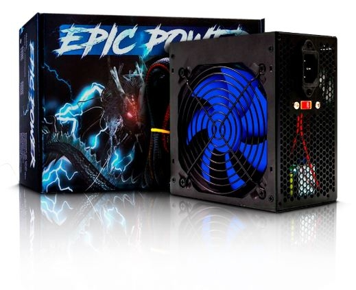 Fonte 550W Real - Epic Power- FT550WEP