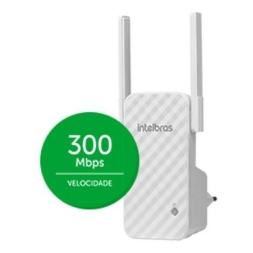 Repetidor / Amplificador de Sinal Wi-Fi Intelbras IWE 3001 - N300 Mbps?cache=2021-01-15