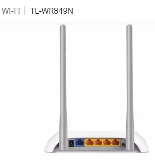 Roteador Wireless 300Mbs - TP-LINK TL-WR849N - 2 Antenas 5DBi