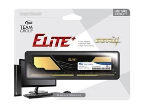 Memória 8GB DDR4 2400Mhz Team Group Elite Plus Black & Golden