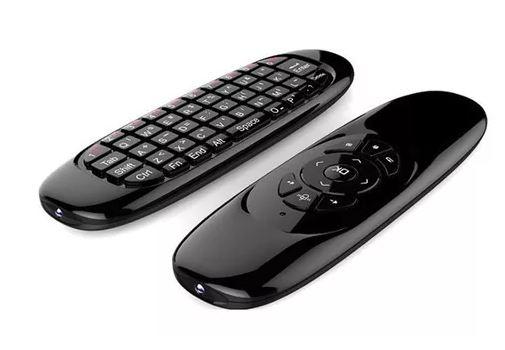 Air Mouse Wireless com Controle Remoto de TV para Computadores / Smart TV / TV Box Jogadores de Rede / Tablets / Consolas de Jogos