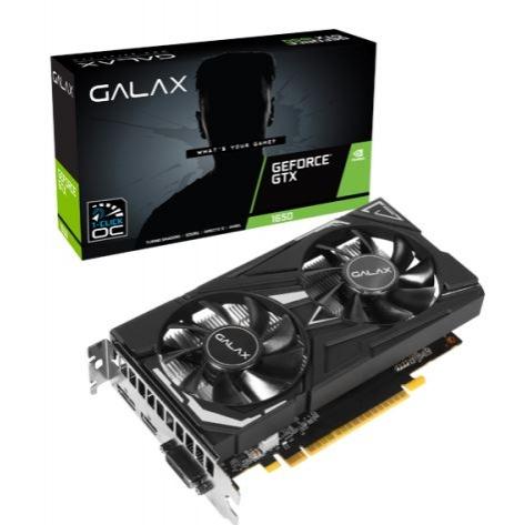 Placa de vídeo GTX 1650 4GB 1CLICK OC G5 128B GALAX 65SQH8DS08EX