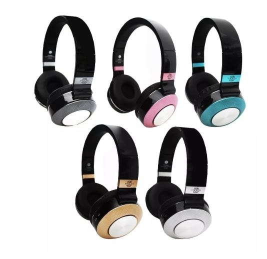 Headphone Bluetooth Hi-fi Sound Sem Fio Fm Sport St-16 - Fone Bluetooth