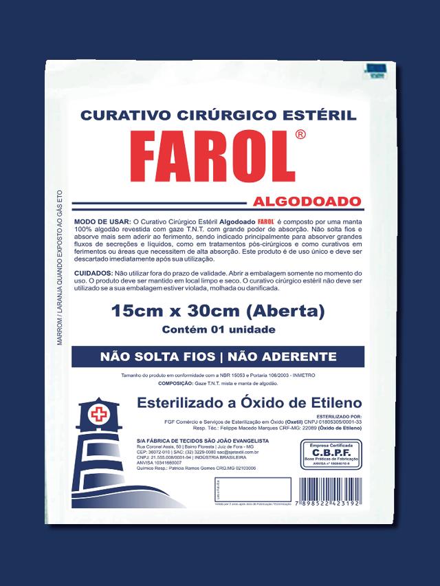Curativo cirúrgico 15X30 Farol - 3022