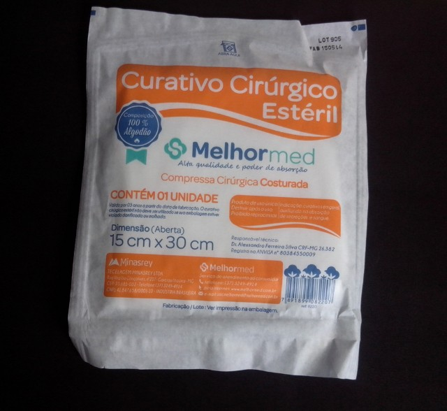 CURATIVO CIRURGICO 15X30CM (8220)