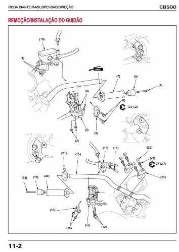 Manual De Serviço (manual De Reparos) Motos Honda por R$10,99