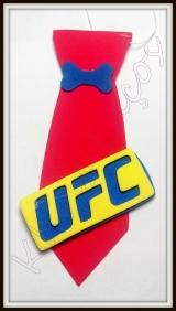 Gravata G UFC(10unidades)