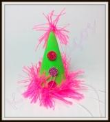 Chapéu P de palhaço de carnaval(10unidades)