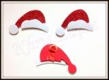 Gorro de Papai  Noel para topete(20unidades)