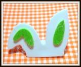 Orelha de coelho P para Topete(12unidades)