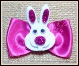 Laço especial para orelha ou topete com coelho de Páscoa(20unidades)