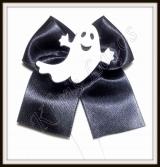 Laço médio de cetim para pescoço de halloween(12unidades)
