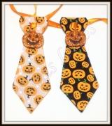 Gravata M estampada de hallowen (12unidades)