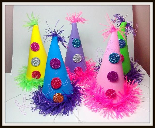 Chapéu M de palhaço de carnaval(10unidades)