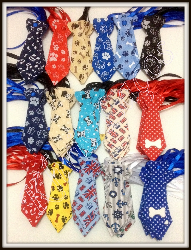 Kit gravatas M estampadas(100unidades)