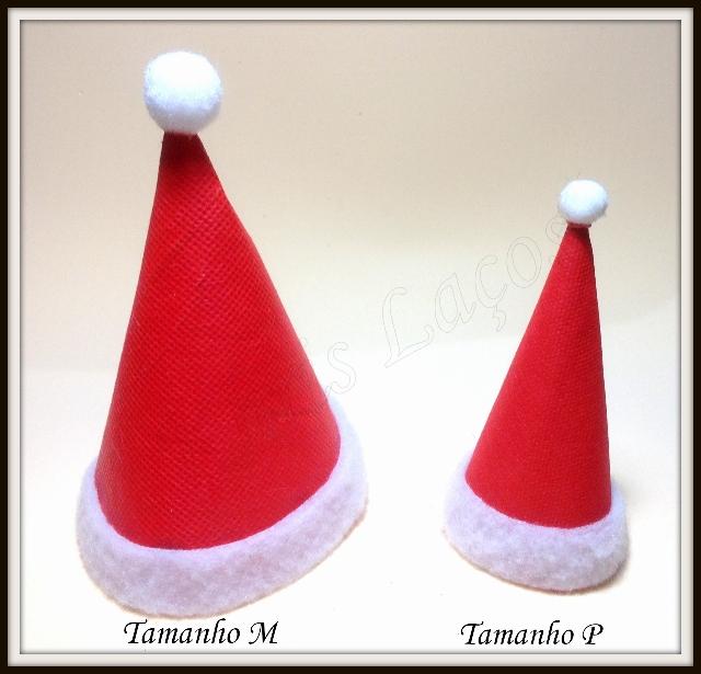 Gorro de Papai Noel  P em TNT(10UNIDADES)