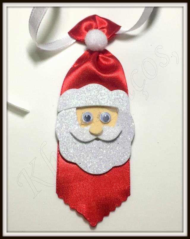 Gravata Média de cetim Noel(12unidades)