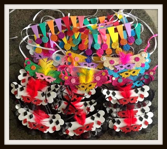 Kit de Carnaval 246 itens