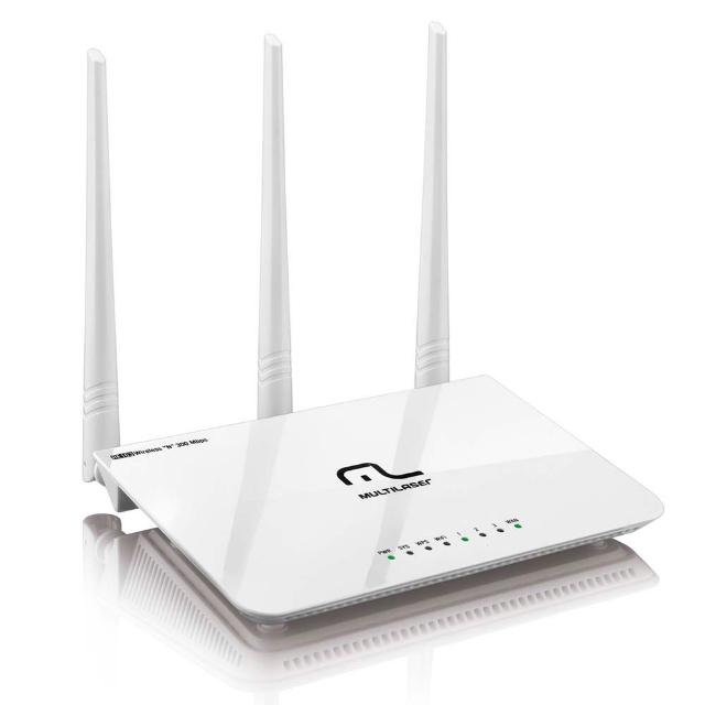 Roteador Multilaser RE163 Wireless 300Mbps Bivolt