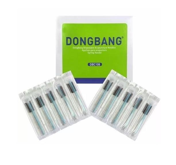 Agulha Acupuntura Dong Bang 25x15 caixa 1000 unidades