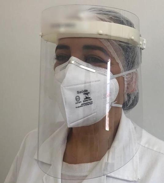 Máscara de Proteção Facial - Face Shield