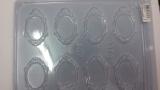 Forma acetato porta retrato oval Peq.9316