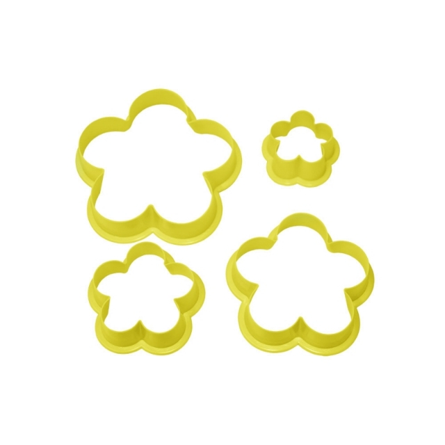 Cortador Flor c/ 4pçs