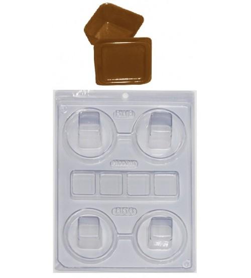 Forma Prática com Silicone Mini Caixa Quadrada 856 – Bwb