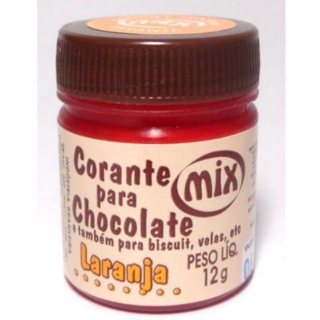 Corante para Chocolate laranja mix 12g