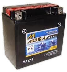 Bateria Moura Moto 12Ah – MA12-E ( Antiga MA14-E ) – Selada ( Ref. Yuasa: YTX14-BS )