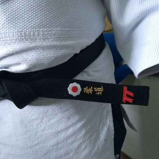 Faixa bordada exclusiva Kodokan Judô